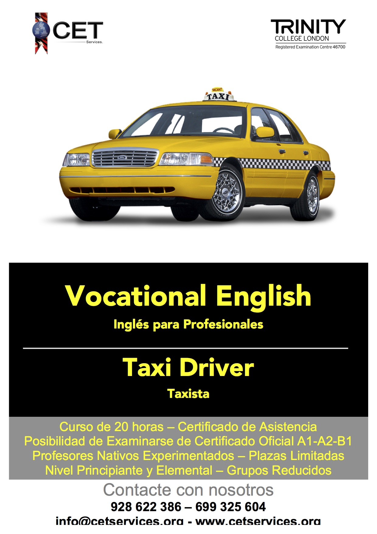 Vocational Taxi Driver
